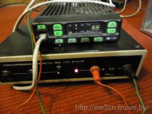 Радиостанция во время программирования