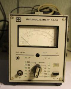 Милливольтметр В3-38